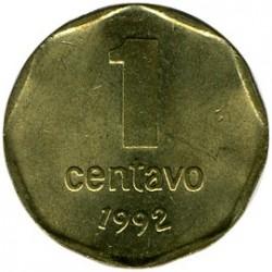 Moneta > 1sentavas, 1992 - Argentina  (Aštuonkampė, lygi briauna) - reverse