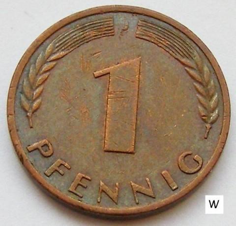 1 Pfennig 1968 Deutschland Münzen Wert Ucoinnet