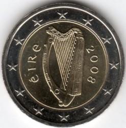 Münze > 2Euro, 2007-2019 - Irland   - obverse