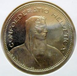 Moneta > 5franków, 2001 - Szwajcaria  - obverse