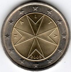 Coin > 2euro, 2008 - Malta  - obverse