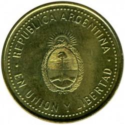 Moneda > 10centavos, 2006-2011 - Argentina  - obverse