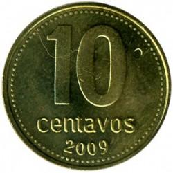 Moneda > 10centavos, 2006-2011 - Argentina  - reverse