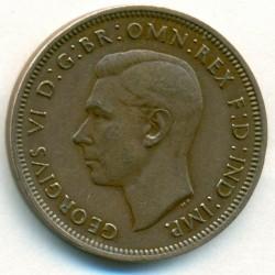 Монета > ½пенни, 1937-1948 - Великобритания  - obverse
