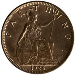 Монета > 1фартинг, 1926-1936 - Великобритания  - reverse
