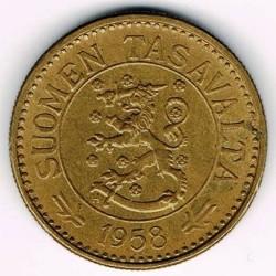 Münze > 10Mark, 1958 - Finnland  - obverse