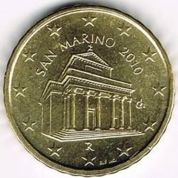 Moneda > 10céntimos, 2008-2016 - San Marino  - obverse