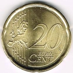 Moneda > 20céntimos, 2008-2016 - San Marino  - reverse