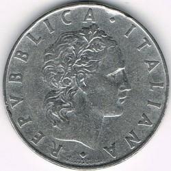 سکه > 50لیره, 1956 - ایتالیا  - obverse