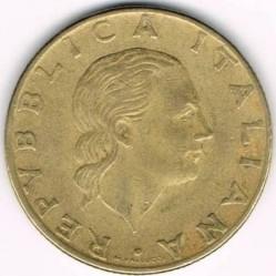 Münze > 200Lire, 1977-2001 - Italien  - obverse