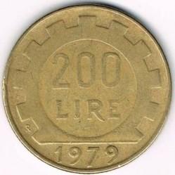 Münze > 200Lire, 1977-2001 - Italien  - reverse