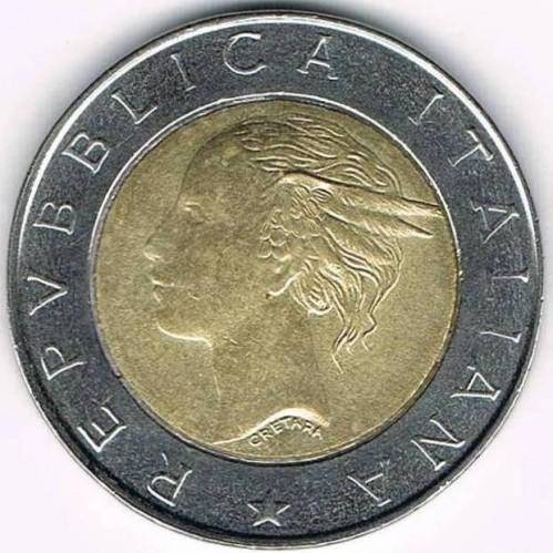 500 Lire 1997 National Police Italien Münzen Wert Ucoinnet