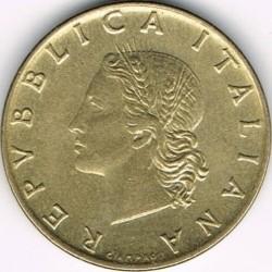 سکه > 20لیره, 1970 - ایتالیا  - obverse