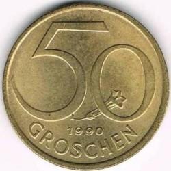 Moneda > 50groschen, 1959-2001 - Àustria  - reverse
