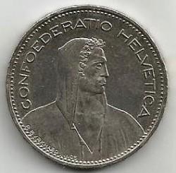 Moneta > 5franków, 1999 - Szwajcaria  - obverse