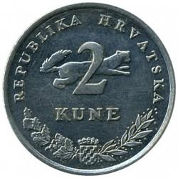 Monedă > 2kune, 1994-2018 - Croația  - obverse