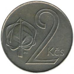 Moneta > 2korony, 1991-1992 - Czechosłowacja  - reverse