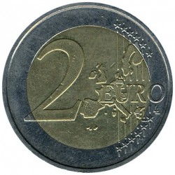 Coin > 2 euro, 2002-2006 - Germany  - obverse