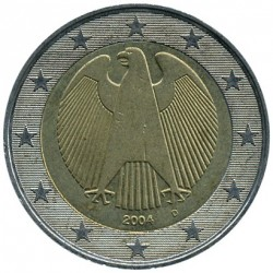 Coin > 2 euro, 2002-2006 - Germany  - reverse