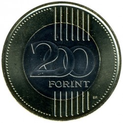 Монета > 200форинтов, 2009-2011 - Венгрия  - obverse