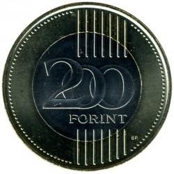 Монета > 200форинтов, 2009-2011 - Венгрия  - reverse