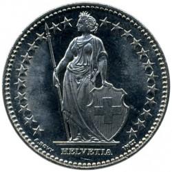 Moneda > 2francos, 1968-2019 - Suiza  - obverse