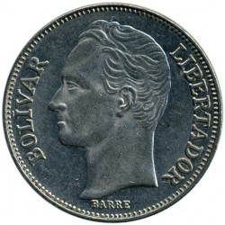 Münze > 2Bolivares, 1989-1990 - Venezuela  - obverse