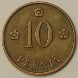 Münze > 10Penny, 1924 - Finnland  - reverse