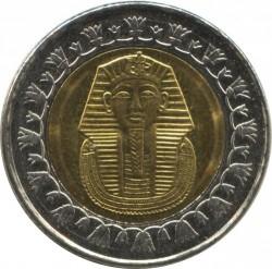 Mynt > 1pund, 2007-2018 - Egypt  - obverse