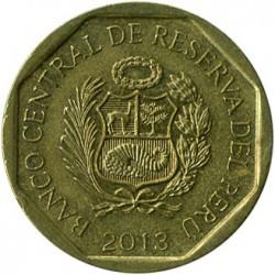 سکه > 10سنتیمو, 2001-2018 - پرو  - obverse