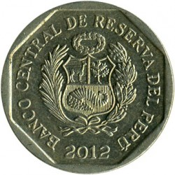 Кованица > 50центи, 2001-2017 - Перу  - reverse