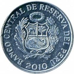 Moeda > 1cêntimo, 2005-2011 - Peru  - obverse