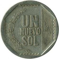 Moneta > 1nuevosol, 2001-2011 - Perù  - reverse