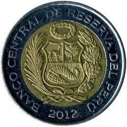 Moneta > 5nuovisoles, 2010-2015 - Perù  - reverse