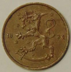 Münze > 5Penny, 1934 - Finnland  - reverse