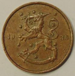 Münze > 10Penny, 1935 - Finnland  - obverse