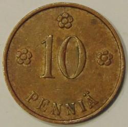 Münze > 10Penny, 1935 - Finnland  - reverse