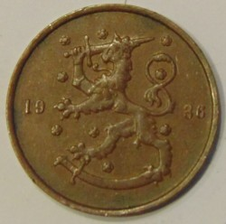 Münze > 10Penny, 1936 - Finnland  - reverse