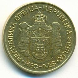 Νόμισμα > 5Δηνάρια, 2005-2010 - Σερβία  - obverse