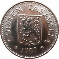 Münze > 100Mark, 1957 - Finnland  - obverse