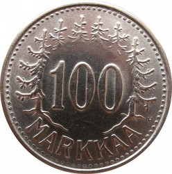 Münze > 100Mark, 1957 - Finnland  - reverse