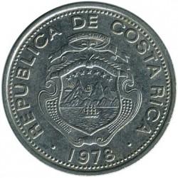 Moneta > 25sentimai, 1967-1978 - Kosta Rika  - obverse