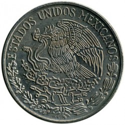 Coin > 50centavos, 1979 - Mexico  - reverse