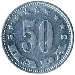 Münze > 50Para, 1953 - Jugoslawien  - obverse