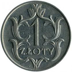 Coin > 1zloty, 1929 - Poland  - reverse