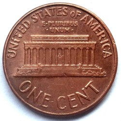Coin > 1 cent, 1963 - USA  - reverse