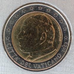 Mynt > 2euro, 2002-2005 - Vatikanstaten  - obverse