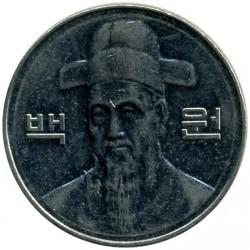 Moneta > 100vonų, 2010 - Pietų Korėja  - obverse