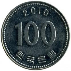 Moneta > 100vonų, 2010 - Pietų Korėja  - reverse