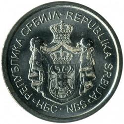 Монета > 10динара, 2011-2012 - Сърбия  - obverse
